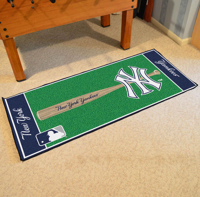 "MLB - New York Yankees Baseball Runner 30""x72"""