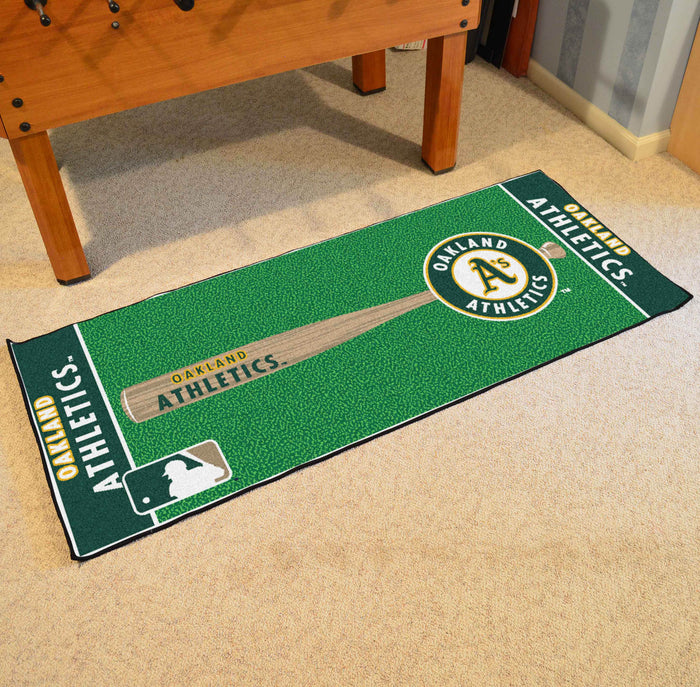 "MLB - Oakland Athletics Baseball Runner 30""x72"""