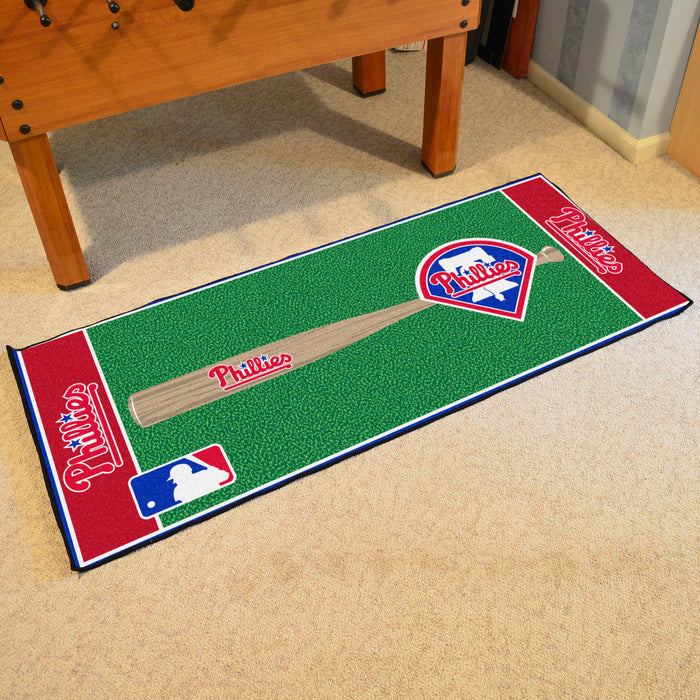 "MLB - Philadelphia Phillies Baseball Runner 30""x72"""