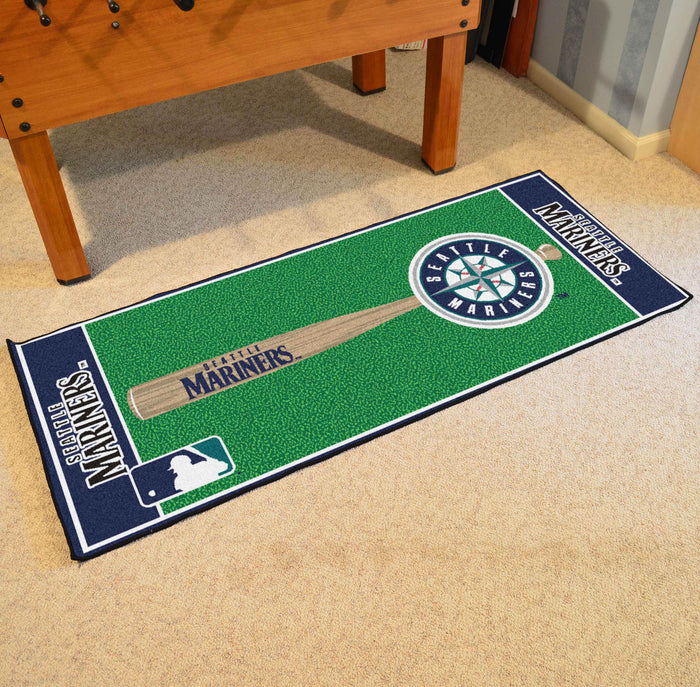 "MLB - Seattle Mariners Baseball Runner 30""x72"""