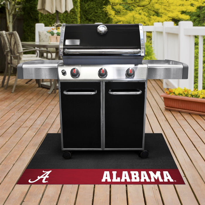 "Alabama Grill Mat 26""x42"" - Fan Cave Rugs"