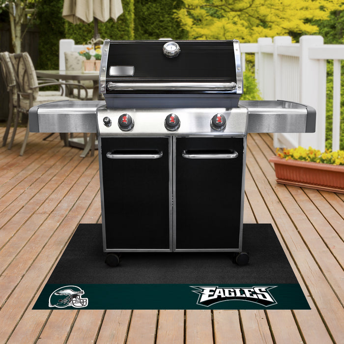 "NFL - Philadelphia Eagles Grill Mat 26""x42"" - Fan Cave Rugs"