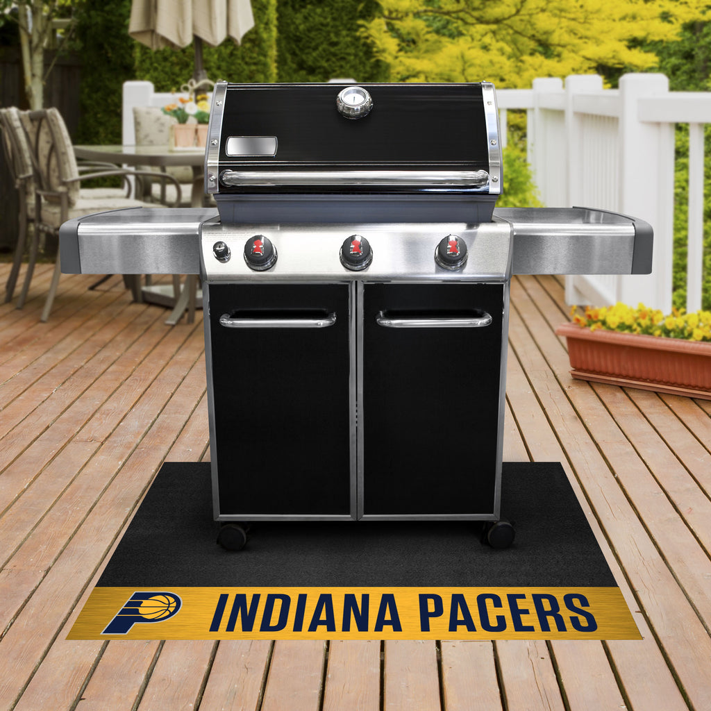 "NBA - Indiana Pacers Grill Mat 26""x42"" - Fan Cave Rugs"