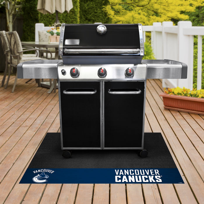 "NHL - Vancouver Canucks Grill Mat 26""x42"" - Fan Cave Rugs"