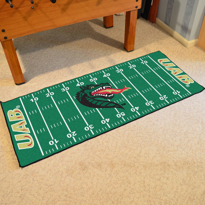 "Alabama - Birmingham Runner 30""x72"" - Fan Cave Rugs"