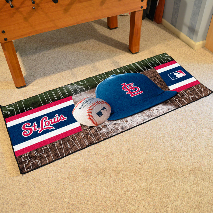 "MLB - St. Louis Cardinals Baseball Runner 30""x72"""