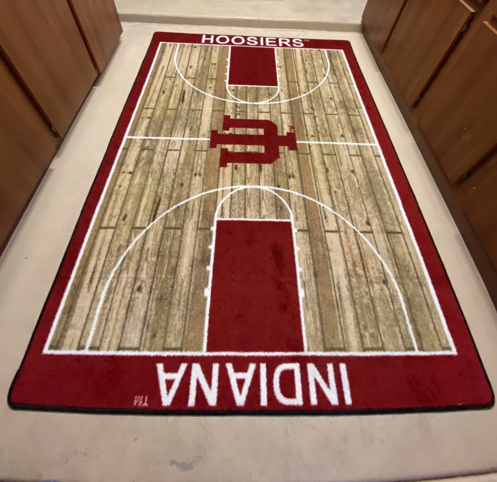 Indiana Hoosiers Home court Rug