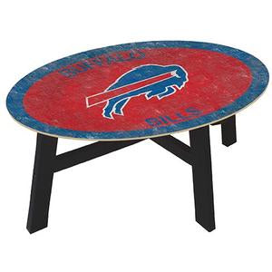 Buffalo Bills Logo  Coffee table with team color