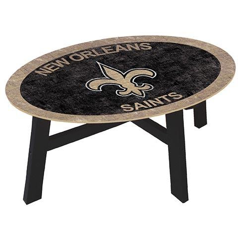 New Orleans Saints  Coffee table with team color