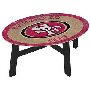 San Francisco 49ers  Coffee table with team color