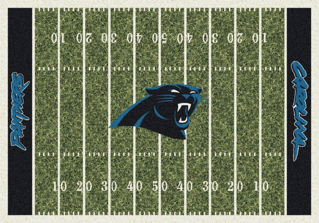 Fan Cave Rugs:Carolina Panthers Rug Team Home Field