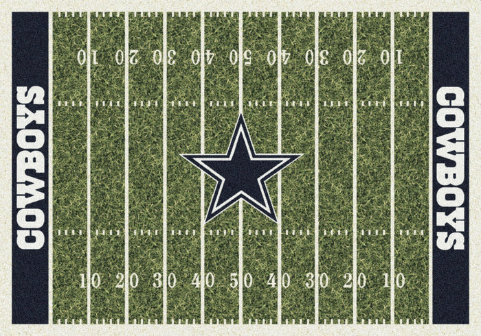 Fan Cave Rugs:Dallas Cowboys Rug Team Home Field