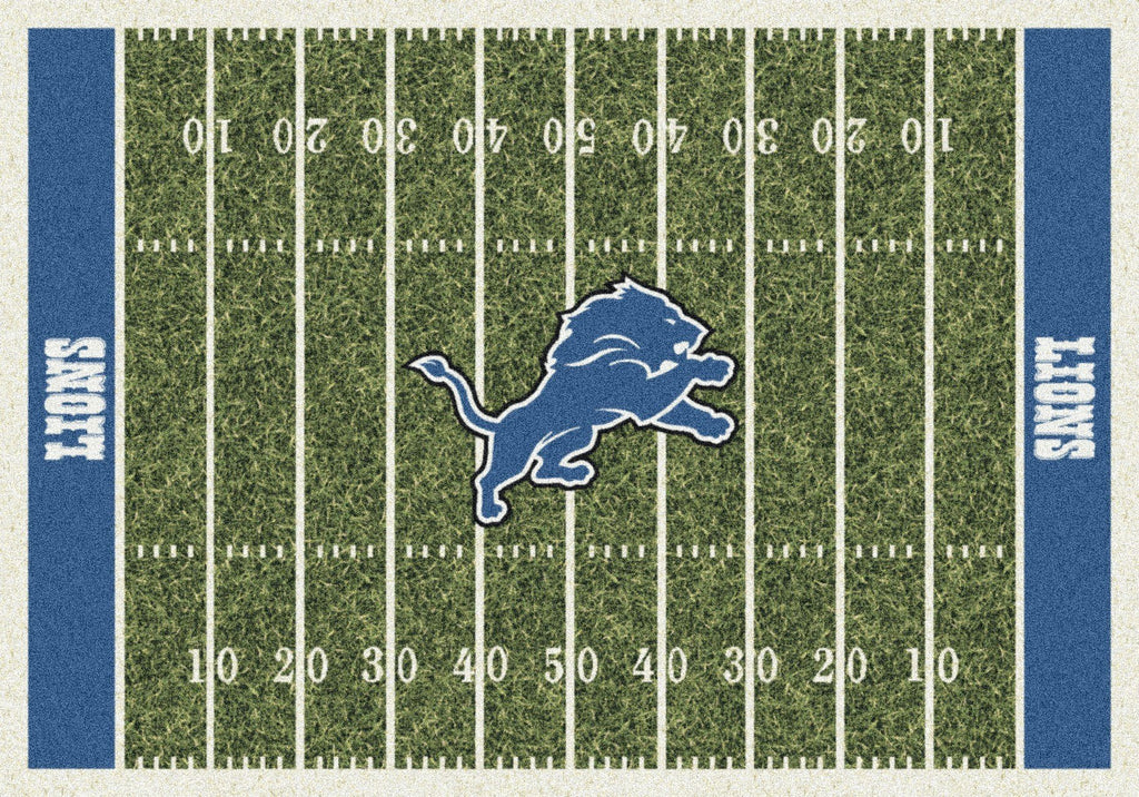 Detroit Lions Rug Team Home Field