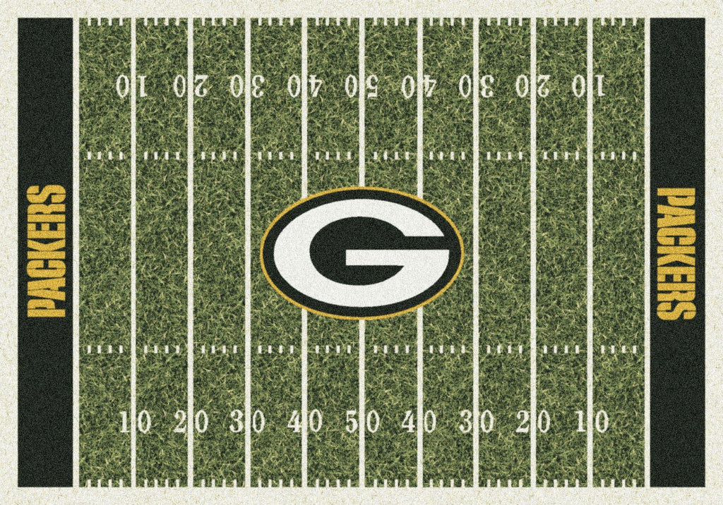 Green Bay Packers Rug Team Home Field