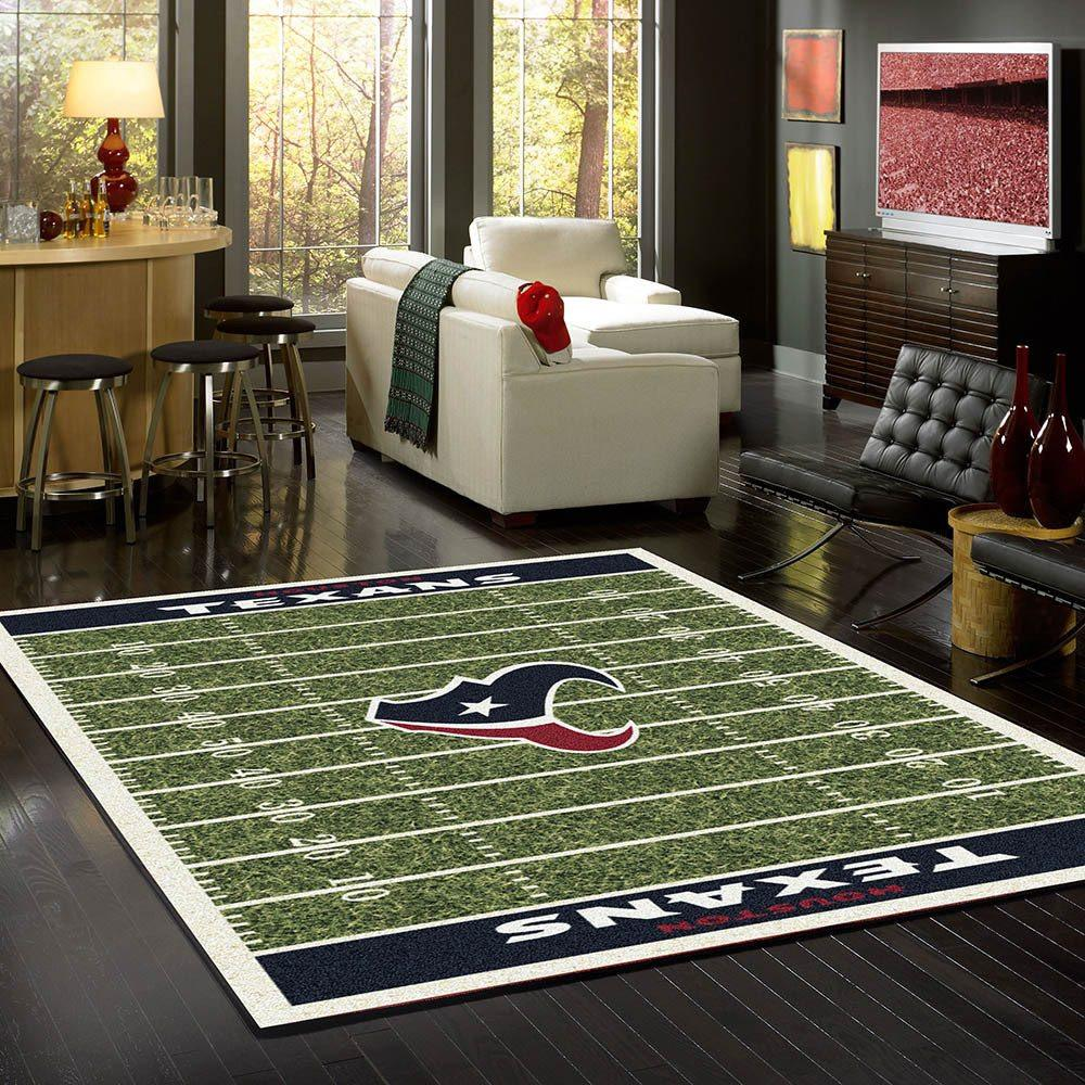 Houston Texans Rug Team Home Field