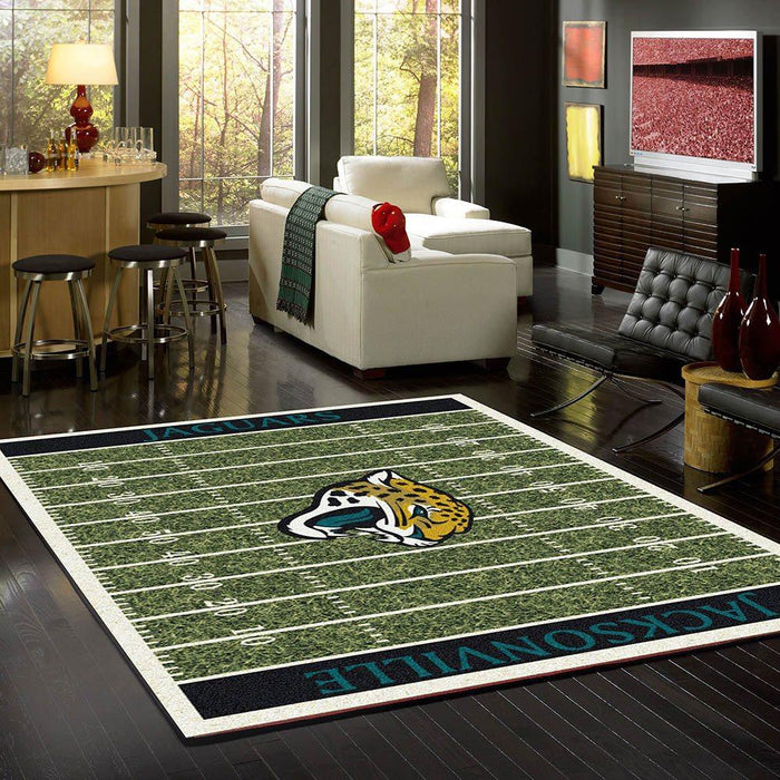 Jacksonville Jaguars Rug Team Home Field