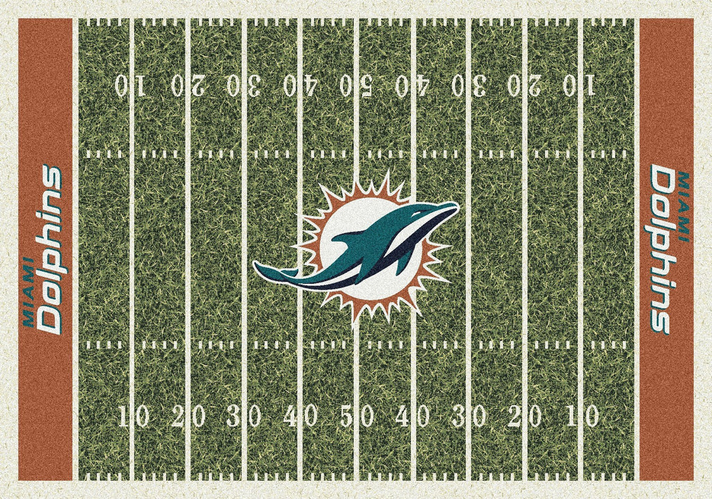Miami Dolphins Rug Team Home Field