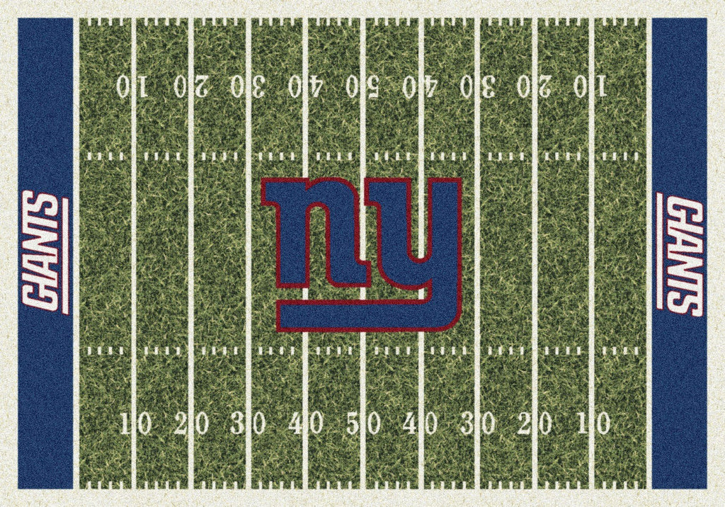 New York Giants Rug Team Home Field