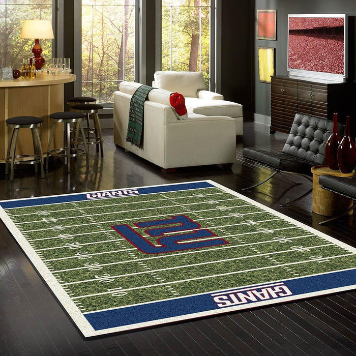 New york Giants home field rug - fan cave rugs