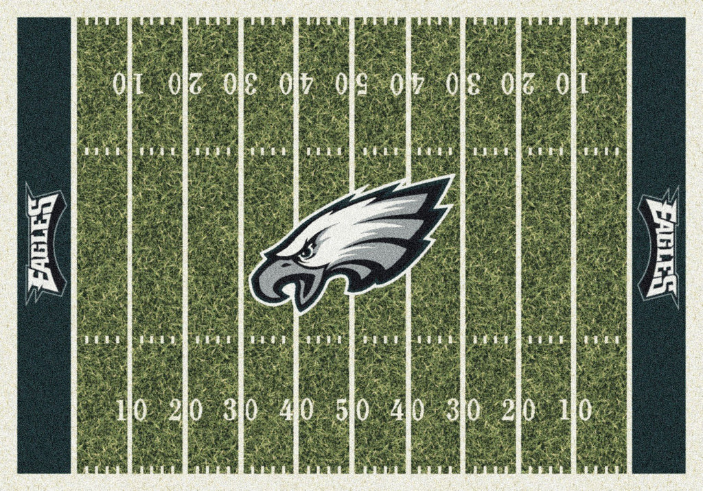 Philadelphia Eagles Rug Team Home Field
