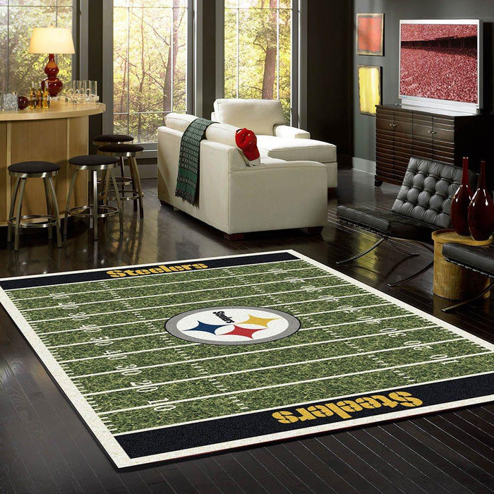 Pittsburgh Steelers Rug Team Home Field