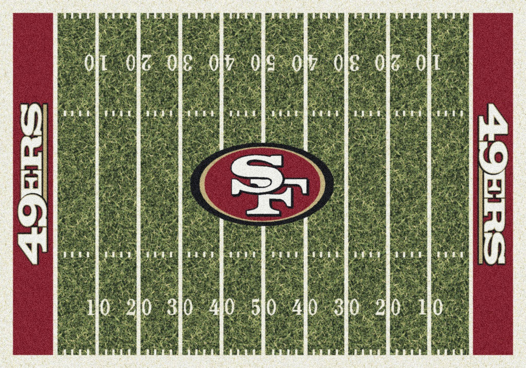 San Francisco 49ers Rug Team Home Field