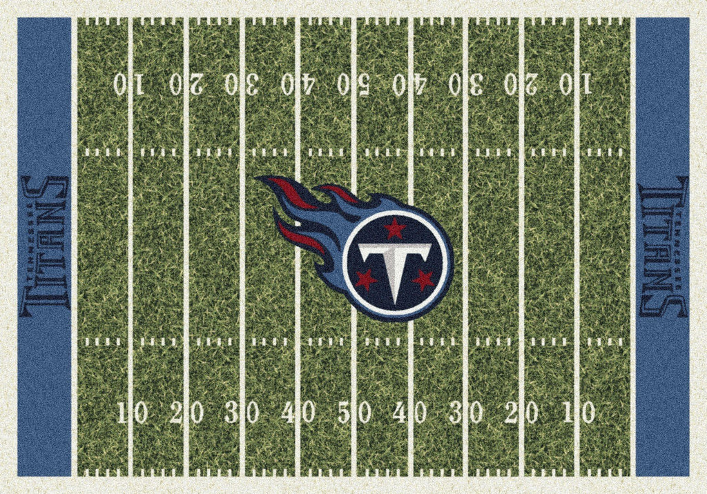 Tennessee Titans Rug Team Home Field