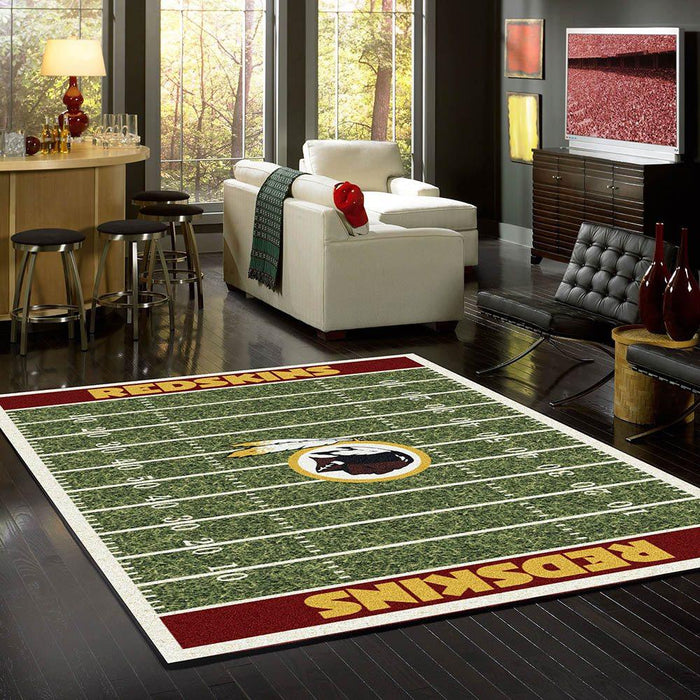 Washington Redskins Rug Team Home Field