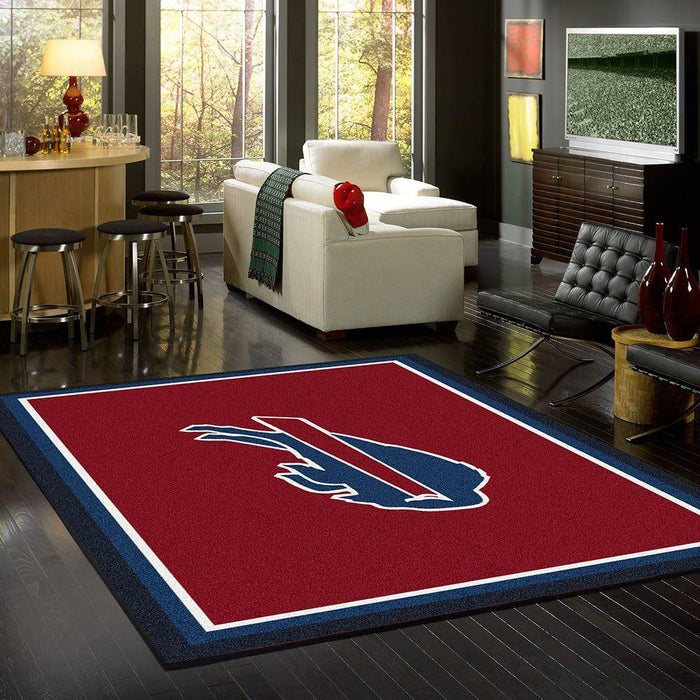 Fan Cave Rugs:Buffalo Bills Rug Team Spirit