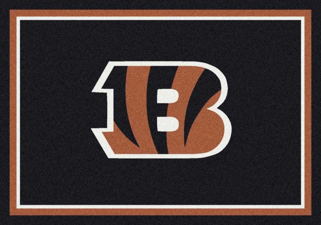 Cincinnati Bengals Rug Team Spirit - Fan Cave Rugs