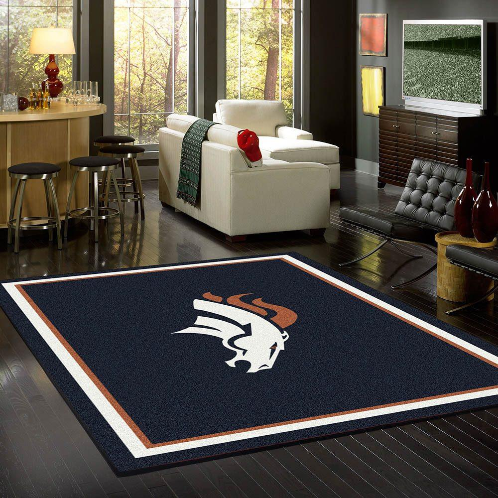 Denver Broncos Rug Team Spirit