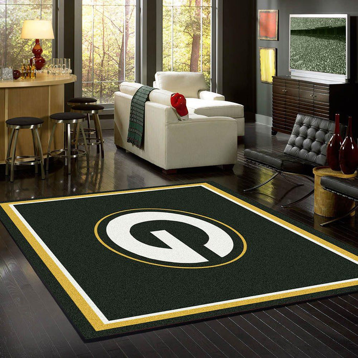 Green Bay Packers Rug Team Spirit
