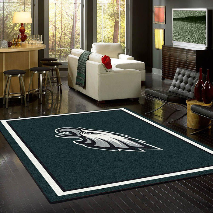 Philadelphia Eagles Rug Team Spirit
