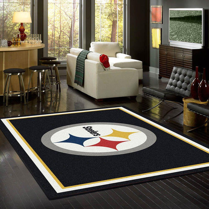 Pittsburgh Steelers Rug Team Spirit