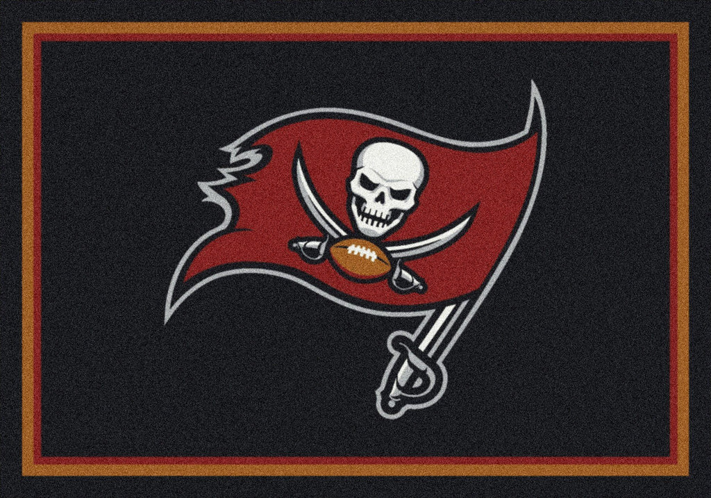 Tampa Bay Buccaneers Rug Team Spirit - Fan Cave Rugs