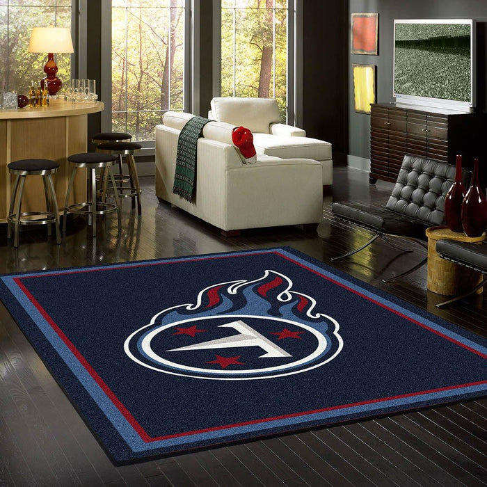Tennessee Titans Rug Team Spirit