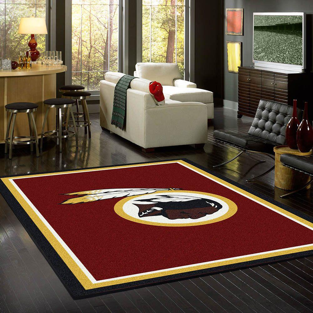 Washington Redskins Rug Team Spirit
