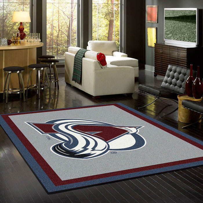 Fan Cave Rugs:Colorado Avalanche Rug Team Spirit