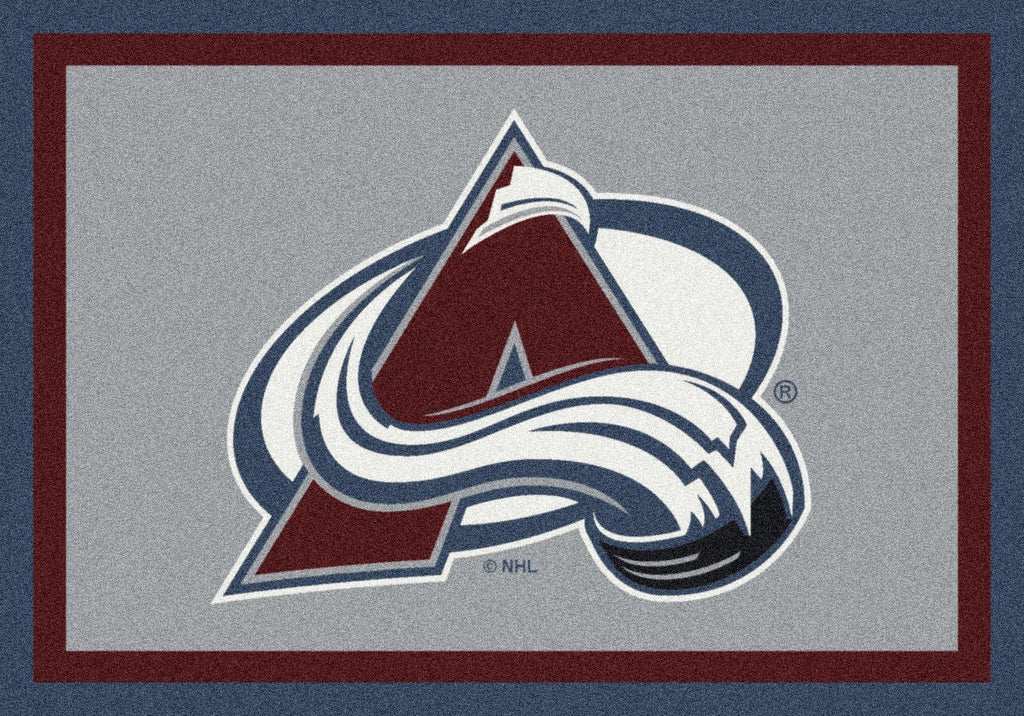 Colorado Avalanche Rug Team Spirit - Fan Cave Rugs