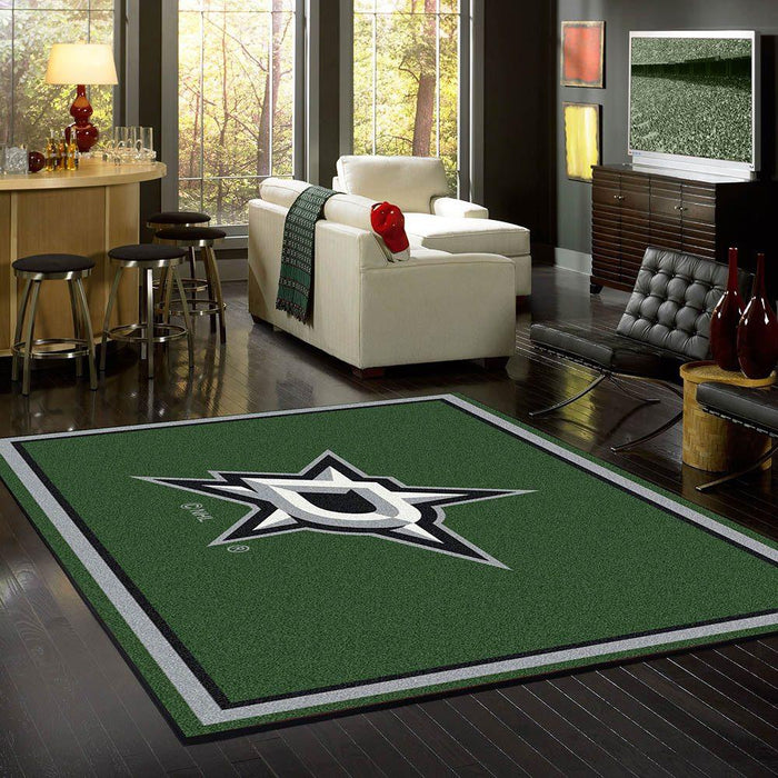 Fan Cave Rugs:Dallas Stars Rug Team Spirit