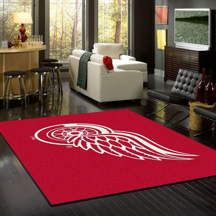 Detroit Red Wings Rug Team Spirit