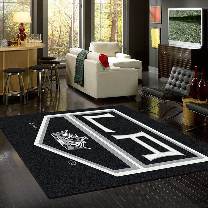 Los Angeles Kings Rug Team Spirit
