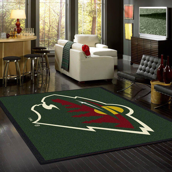 Minnesota Wild Rug Team Spirit