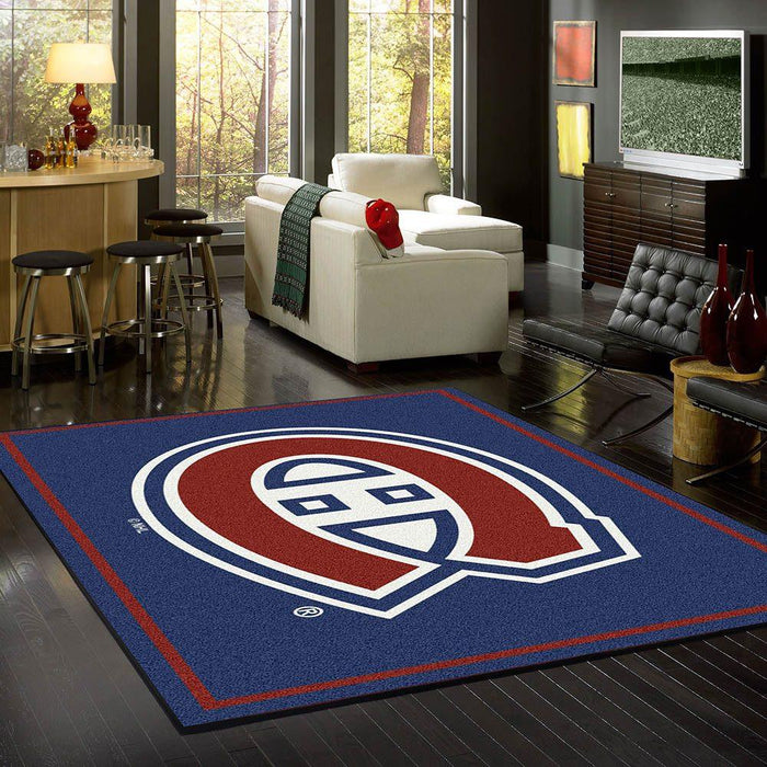 Montreal Canadians Rug Team Spirit