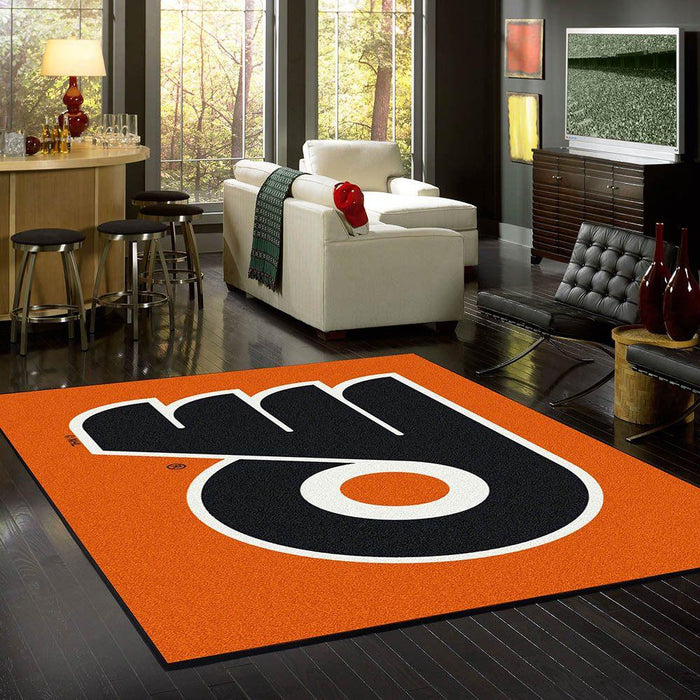 Philadelphia Flyers Rug Team Spirit