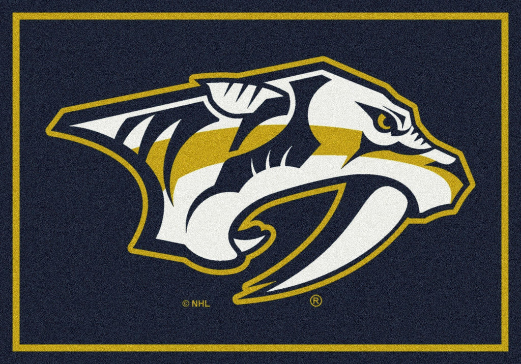 Nashville Predators Rug Team Spirit - Fan Cave Rugs