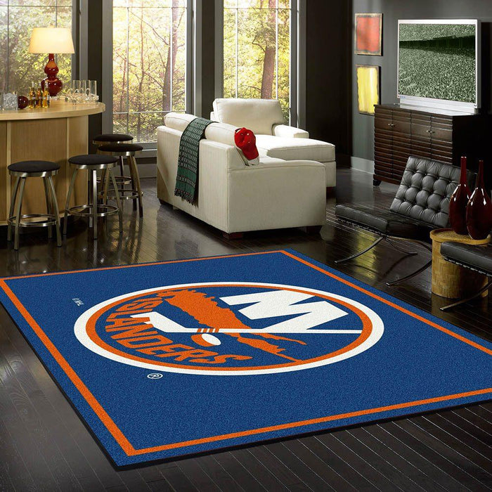 New York Islanders Rug Team Spirit