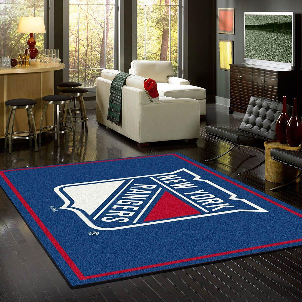 New York Rangers Rug Team Spirit
