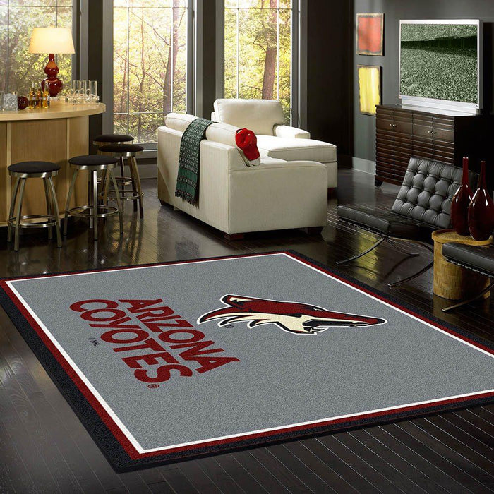 Arizona Coyotes Rug Team Spirit - Fan Cave Rugs