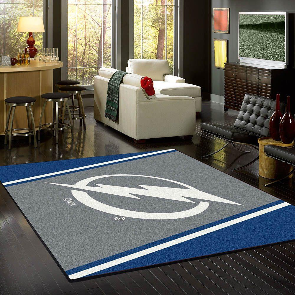 Tampa Bay Lightning Rug Team Spirit